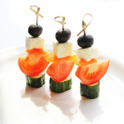 Овощи по-гречески с сыром Фета