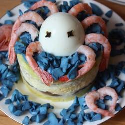 """салат """"Голубой океан"""""""